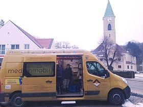 Medienmobil in Kreuzstetten